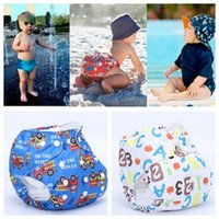 Wholesale unisex baby cloth diapers for sale - Group buy Unisex free Size Waterproof Adjustable Swim Diaper Pool Pant Swim Diaper Baby Reusable Washable Pool Diaper Color