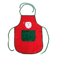 фартуки оптовых-Christmas Aprons Waterproof Cleaning Aprons For Adults Women And Men Xmas Dinner Party Cooking Apron Kitchen Accessories 1PCS