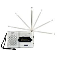 ingrosso micro bluetooth di arrivo nuovo-Mini portatile Pocket AM / FM Antenna Baery alimentato ricevitore radio Z1030 DROPSHIP