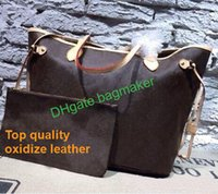 b24486faeab6 Top quality 40995 designer genuine leather will oxidize never mm gm full  women tote bag with removable zippered clutch Shoulder purses 40156
