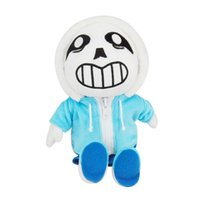 Wholesale undertale plush sans for sale - 1pcs cm Undertale Sans Stuffed Plush Toys Doll Cute Sans Plush Toy Soft Cartoon Anime Toys for Kids Children Christmas Gifts
