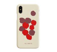 iphone case al por mayor-C54-1354 Funda beige de silicona para iPhone X, cubierta posterior lustrosa para iPhone X, estuche delgado y simple para iPhone X