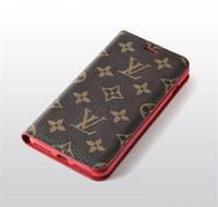 mostrar fundas de teléfonos al por mayor-Diseñador de lujo Paris Show Phone Case para iPhone X XS Max XR 7 7 Plus 8 8 Plus Funda de cuero Funda Titular de la tarjeta cubierta de la caja