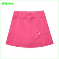 Wholesale Sports Skirt Tennis - Wholesale-Summer Women Sports Mini Skirt Tennis Aerobics Skorts for Fitness Cheerleader