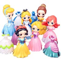 juguetes de muñecas de china al por mayor-DHL 11 CM Muñecas con biberón American PVC Kawaii Juguetes para niños Figuras de acción de Anime Muñecas realistas renacidas para niñas juguetes
