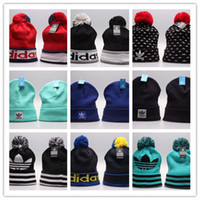 Wholesale Hockey Team Hats - 2018 free shipping top Sale AD Islanders Hockey Beanies Team Hat Winter Caps Popular Beanie Caps Skull Caps Best Quality Sports Cap