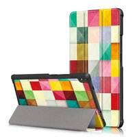 Wholesale tablet screen magnetic covers - PU Leather Case for Lenovo Tab 4 8 Plus 8.0 inch Flip Magnetic Smart Cover for Lenovo Tab 4 8 Plus+Pen