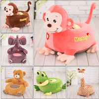 Wholesale Dinosaur Pillows - Stuffed Animals Plush toy Dolls NO COTTON INSIDE Play Toys Fruit Pillows cushions 60CM dinosaur giraffe frog Monkey Elephant lovely Cute toy
