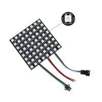 panel led 32 al por mayor-6 * 6 16 * 16 8 * 32 Píxeles 36 píxeles 256 Píxeles WS2812B Panel de LED flexible digital Direccionable individualmente Full Dream Color DC5V