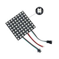 Wholesale led panel 36 resale online - 6 Pixel pixels Pixels WS2812B Digital Flexible LED Panel Individually Addressable Full Dream Color DC5V