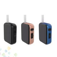 ecig mini mods kit großhandel-Authentische Kamry Kecig 4.0 Heizbox Kit Push Style Switch Vaporizer Mods Temperatur angepasst KeCig4.0 650mAh Mini Ecig DHL Free