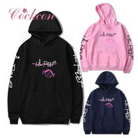 толстовки с капюшоном кореи оптовых-New Korea Style Harajuku Hoodies Women Fashion Letter Printing Streetwear Casual Pullovers O Neck Basic Sweatshirts V1