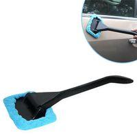 longo, segurado, car, limpeza, escova venda por atacado-Pára-brisa de Microfibra Mais Limpo Janela Do Carro Escova Auto Veículo Longo Lidar Com Limpador De Vidro Escova De Limpeza Escova Brisa Cuidados Com o Limpo Removedor de Poeira