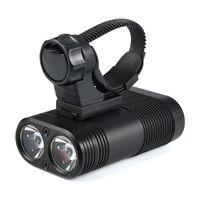 ingrosso le torce più alte di lm-Alta luminosità XM-L T6 LED bici luce USB bicicletta luci torcia ricaricabile lampada torcia accessori ciclismo # 2A30