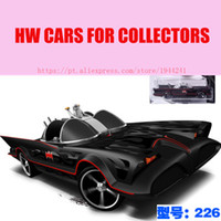Wholesale wheel cars for sale online - Hot Sale Hot Car Models Wheels TV SERIES BATMOBILE Collection Metal Cars Style Toys For Children s Educational Toys Gift