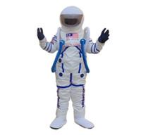 trajes espaciales trajes al por mayor-Traje de la mascota del traje del espacio caliente de la alta calidad 2018 traje de la mascota del astronauta Envío gratis