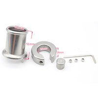 Wholesale prison bird resale online - Prison Bird New Male penis Ring Stainless Steel Cock Ring Body Bondage Sex Toys for Men Chastity Device A316