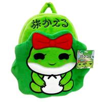 sacs à dos de poupée achat en gros de-Petit sac à dos pour garçons et filles de bande dessinée créative, sac amovible pour poupée grenouille de voyage, sac à main zéro pour dames