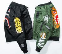Wholesale Mens Suit Jacket Pattern - NEW mens jacket MA-1 pilot jacket KANYE WEST YEEZUS Bomber YEEZUS jackets Sport Suit Parkas mens hip hop coats
