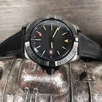 Wholesale bird mechanical - Luxury AAA Men's Avenger II Black Bird Watch Stainless Steel 8213 Automatic Mechanical Men Mens Watch Watches