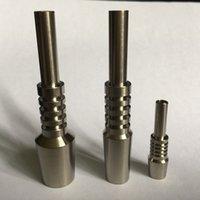 collecteur de nectar titane de 14 mm achat en gros de-Vente chaude Nectar collector Titanium Nail 10mm14mm18mm Inversé Nail GR2 Titanium Tip Livraison gratuite