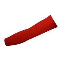 ingrosso riscaldatori del braccio di modo-Moda Uomo Donna Solid Arm Sleeves Lycra Spandex scaldamani Copri protettivi