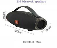 Wholesale portable speaker brands - E16 Wireless Bluetooth Speaker Outdoor Portable Subwoofer Mini Speaker Manufacturer Wholesale Brand audio