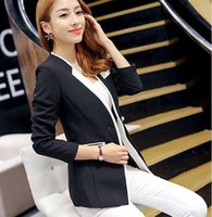 f8e09d75d81d korean women blazers NZ - Women Spring Korean Fashion Slim Fit Long-sleeved  Business Blazer