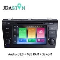 Wholesale mazda dvd android - JDASTON 2 DIN Android 8.0 Car DVD Player For MAZDA 3 2003-2009 Octa Cores 1080P Radio GPS Navigation 4G+32G Multimedia Headunit