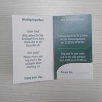 ingrosso portachiavi chiave-porta carte di hotel porta carte mini porta carte chiave dell'hotel