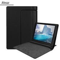 Wholesale yoga tablet inch online - For Yoga Tablet inch YT3 Case Ultra Slim Lightweight Folio Cover For Released Lenovo Yoga Tablet inch