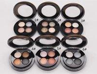 paleta de eyshadow al por mayor-Nuevo maquillaje Marca Jade Jagge sombra de ojos Paleta 4 colores mate Shimmer 6 estilo para elegir Eyshadow paleta de alta calidad ENVÍO de DHL
