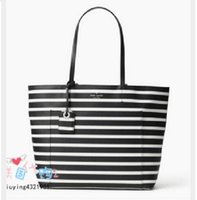 Wholesale tote bags stripped - 2017 New style fashion bags luxury designer handbags high quality brand bags strips totes bags free shipping