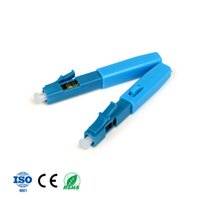Wholesale upc fiber connector for sale - Group buy 10 LC UPC fast connector Assembly Fast FTTH Fiber Optic Connectors