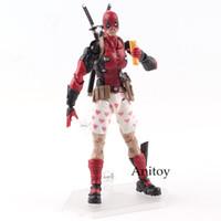 Wholesale models toys hobbies - Toys Hobbies Action Toy Figures Figma Deadpool Action Figure EX-042 DX Ver. MAXFACTORYXMASAK APSY PVC Collectible Model Toy 14.5cm KT4792