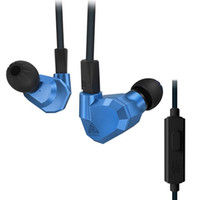 ingrosso earbud earplug-Originale KZ ZS5 2DD + 2BA Ibrido In Ear Auricolari HIFI DJ Monito Running Sport Cuffie Earplug Auricolare Auricolari Due Colori