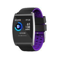 armband handy uhren großhandel-Rate Uhr 30g Smart Sport Telefon Sport etc VER4 für IP67 Street Mobile Casual Armband Herz Fitness 0 Tracker