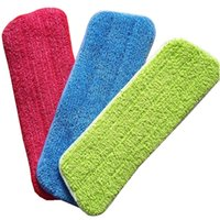 Wholesale Free Minutes - Superfine Fiber Cloth Flat Mop Cover Free Hand Washing Mops Replacement Material Practical Thickening Household Cleaning Tools 3xp X