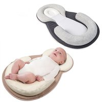 Wholesale baby positioning - Baby Pillow Correct Sleeping Position Newborns Sleep Positioning Pad Cotton Pillows Mom Care Infant Protection Cushion Headrest