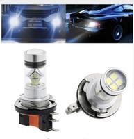 h3 cree venda por atacado-H15 100 W 20LED CREE Super Brilhante LEVOU Carro Nevoeiro Lâmpada Sinal de Volta de Freio de Estacionamento Cauda DRL Auto Head Light Lamp