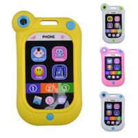 Wholesale baby cell phone toys for sale - Group buy Baby Kids Learning Study Musical Sound Cell Phone Children Educational Toys Musical Instrument Toy Phone Random Color