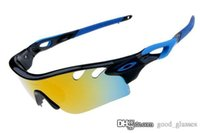 Wholesale road fashion - Fashion Radarlock Sunglasses OKLY Men Women Brand e4j Design OK RIZM Road Path Sports Cycling Sun Glasses Eyewear Racing with case