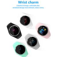 Wholesale white color windows for sale - Q1 Color Screen sensor Smart Watch Wristband Blood Pressure Heart Rate Monitor Fitness Tracker Men Women Smartwatch Bracelet free DHL
