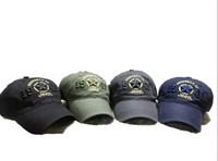 chapéus de exército de qualidade venda por atacado-Exército verde jeep hat cap mulheres homens boné de beisebol bola de golfe cap top quality new 1941 jeep bordado chapéu