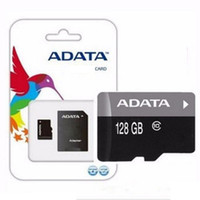 Wholesale 16gb sd card free shipping - Promotions 100% real ADATA 4GB 8GB 16GB Card USH-1 Class10 Free SD Adapter Retail Blister Package Epacket DHL Free Shipping