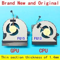 кулер asus cpu оптовых-Новый ноутбук кулер для ноутбука радиатор для ASUS серии ROG G751JM G751JZ G751J G751M G751JY G751JT G751JL CPU и GPU вентилятор охлаждения л+р