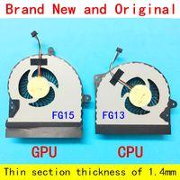 asus cpu ventilateurs de refroidissement achat en gros de-Nouvel ordinateur portable Radiateur de refroidissement portable pour ASUS ROG G751JM G751JZ G751J G751M G751JT G751JY G751JL CPU ET GPU VENTILATEUR DE REFROIDISSEMENT L + R