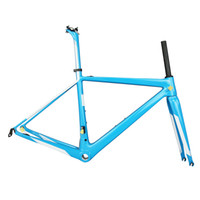 Wholesale new made bicycle resale online - 2019 New super light carbon frame bicycle Frame T1000 Bicycle road Frame FM686 made in tantan factory