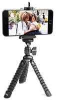 Wholesale flexible tripods online - Flexible Tripod Phone Holder with Bendable Octopus Legs for iPhone Samsung Galaxy and Other Smart Phone
