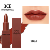 Wholesale daily lipstick resale online - Fashion Popular CE EUNHYE HOUSE Lipstick Matte Lips Makeup Waterproof Lipgloss Velvet lip stick Daily Use Girl Gift